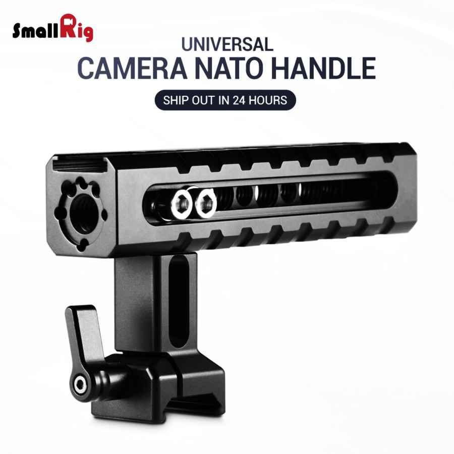Smallrig Camera Handle Video Camcorder Action Stabilizing Nato Handle Adjustable