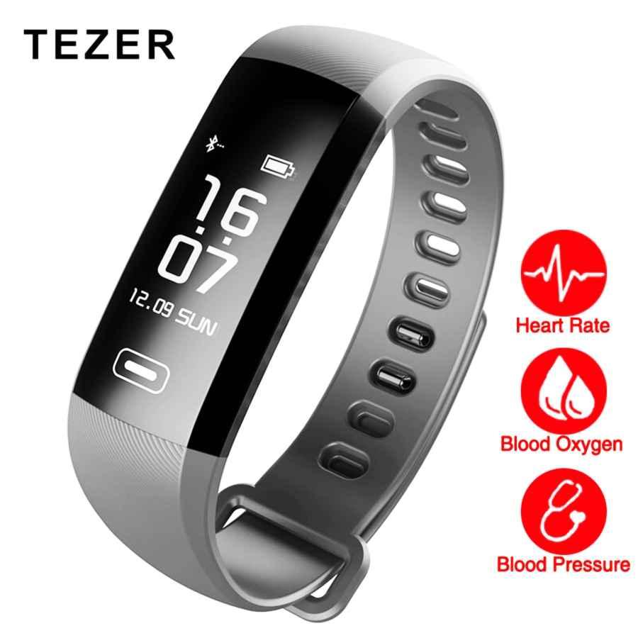 Tezer R5max Smart Fitness Bracelet Watch Intelligent Blood Pressure Heart