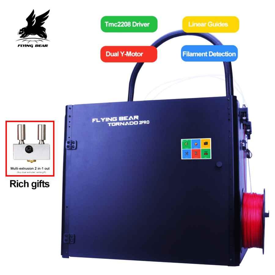Flying Bear Tornado 2 Pro Large 3d Printer Diy Full