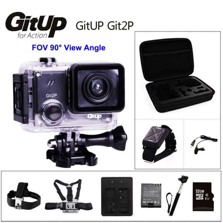 Gitup Git2p 90 Degree Lens Action Camera 2k Wifi Sports