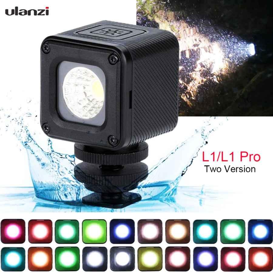 Ulanzi L1/L1pro Waterproof Led Video Light Dimmable On Camera Lighting