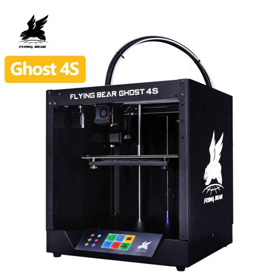 Free Shipping 2019 Popular Flyingbear-Ghost4s 3d Printer Full Metal Frame