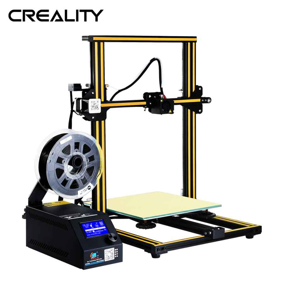 Original Large Printing Size Creality Cr-10 3d Printer Full Metal