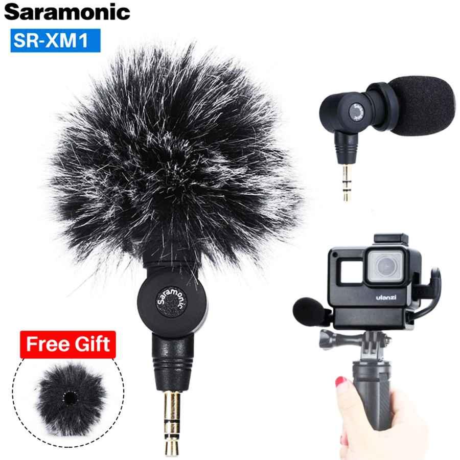 Saramonic Sr-Xm1 3.5mm Wireless Microphone Gopro Vlog Video Mic For