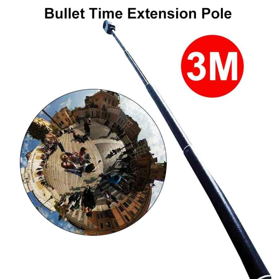3m Aluminum Extension Pole For Insta360 One X Selfie Stick