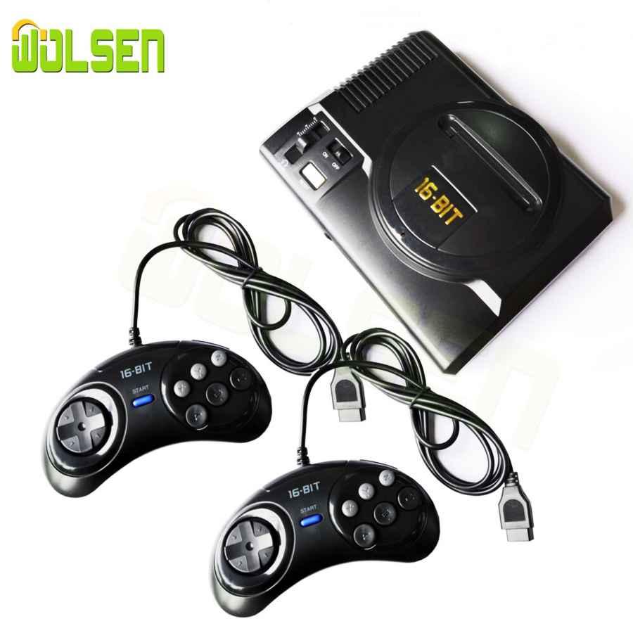Wolsen Mini Video Tv Game 16 Bit Console Av Output