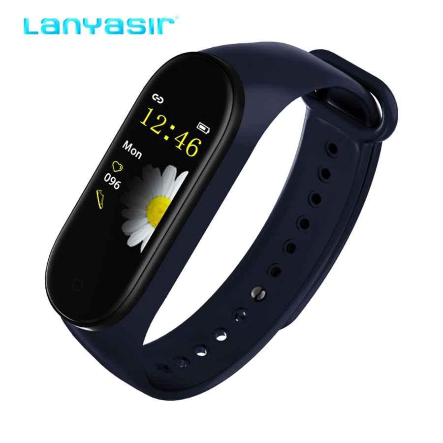 Lanyasir M4 Smart Band Fitness Tracker Smart Bracelet Waterproof Wristband