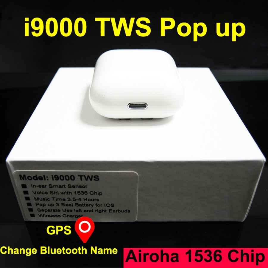 I9000 Tws Smart Sensor Wireless Earphone Gps For Ios Change
