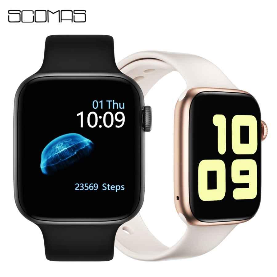 Scomas Smart Watch Iwo 8 Pro 1.54Ips Bluetooth Call Heart